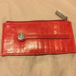 Hobo Red Wallet